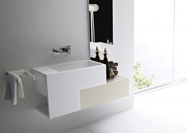 Acrylic Lavabos And Basin Sinks In Bathroom