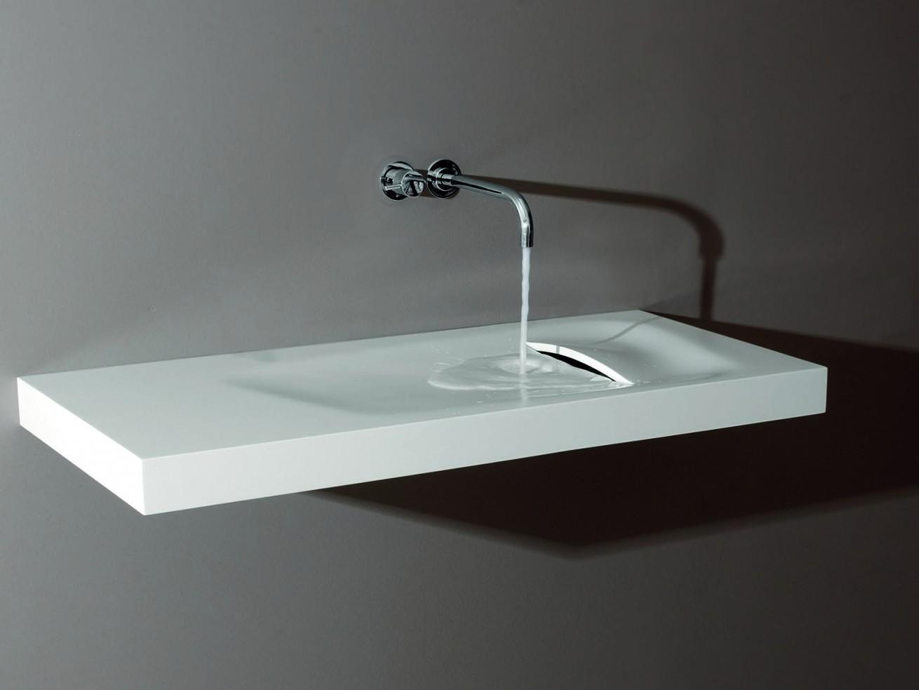 Acrylic Lavabos And Basin Sinks In Bathroom From Corian®
