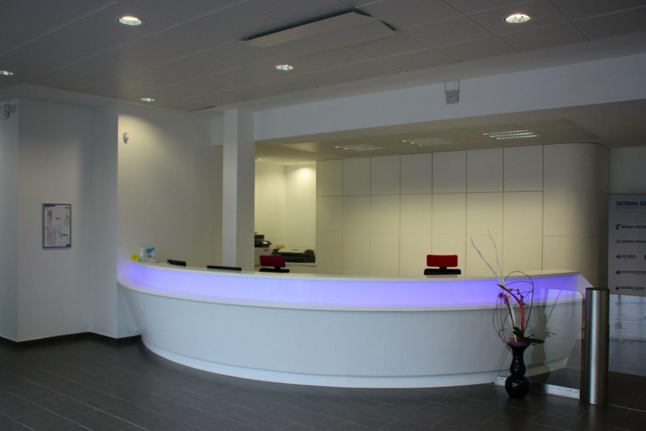 Modern Solid Surface Reception