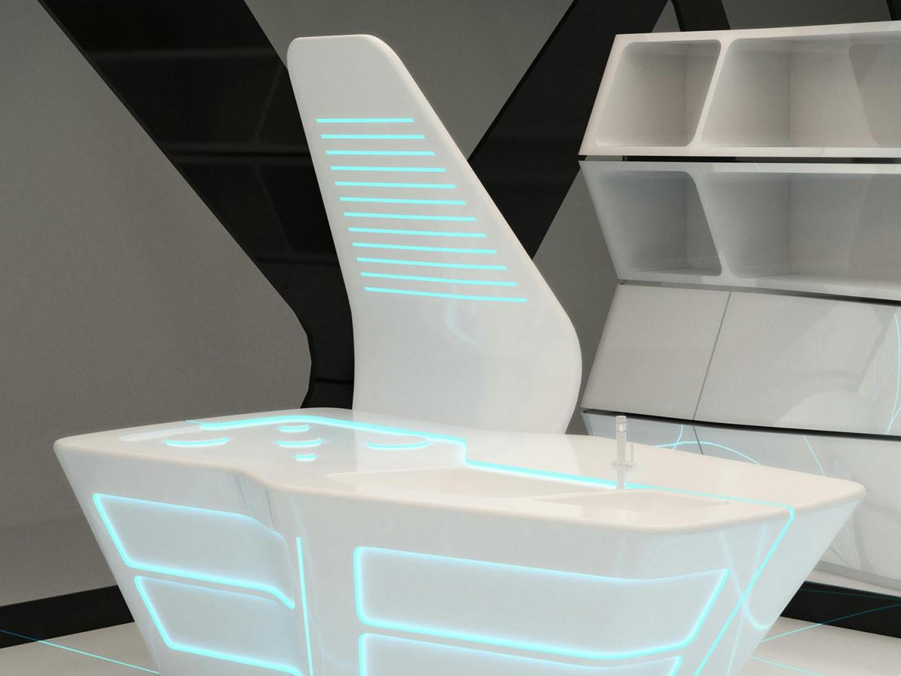 Dupont Corian® Tron - Concept Lighting Design