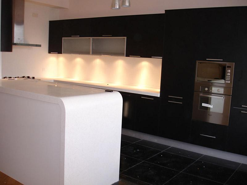 Termoformed Kitchen Countertop