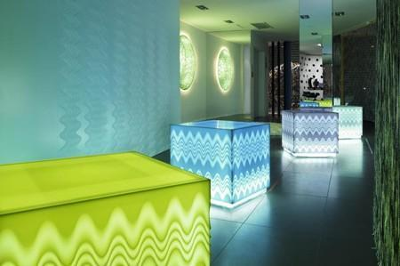 Corian İlluminated Cubes